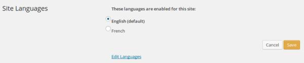 WPML default language