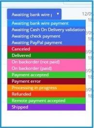 Custom Order Statuses